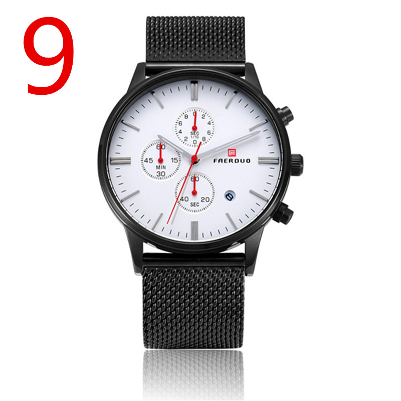 zou's 2018 new genuine watch men's mechanical watch automatic waterproof fashion tide simple ultra-thin men's watch