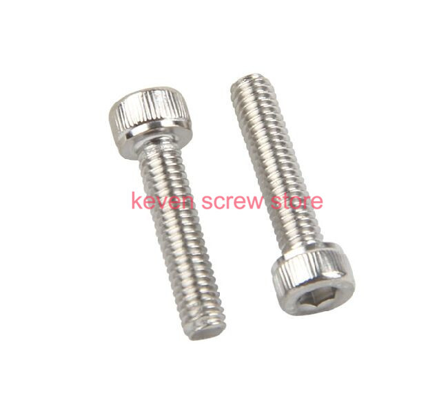 Free Shipping 100pcs/Lot Metric Thread DIN912 M3x20 mm M3*20 mm 304 Stainless Steel Hex Socket Head Cap Screw Bolts free shipping 100pcs lot metric thread din912 m4x12 mm m4 12 mm 304 stainless steel hex socket head cap screw bolts page 2