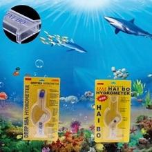 Accurate Hydrometer Salinity Meter For Aquarium Fish Tank Marine Sea Saltwater 028 038 Prevent Contamination цена и фото