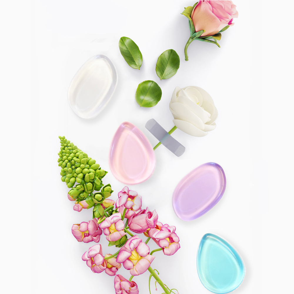 Clearance Faylisvow Brand Makeup Sponges Star Gel Silicone Cosmetics Puff Colorful Mini Foundation Blender Washable Silisponge