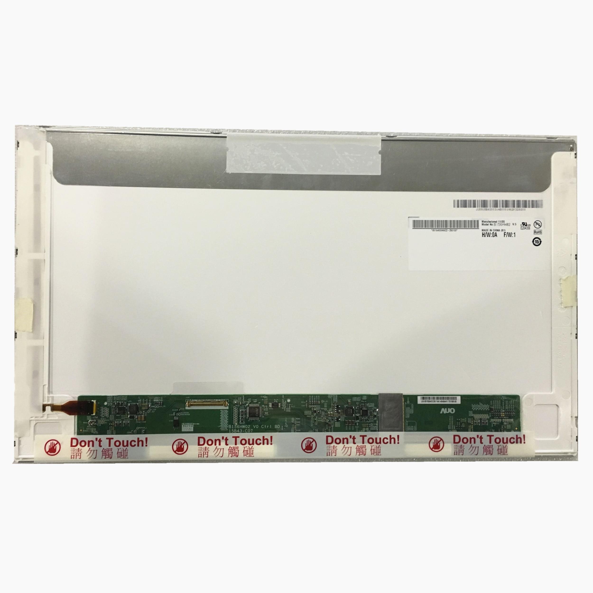 Livraison Gratuite B156HW02 V.5 V5 LTN156HT01 LTN156HT02 LP156WF1-TLB2 B156HW01 1920*1080 écran LED lcd Écran D'ordinateur Portable