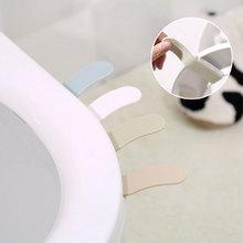 1 шт., портативное удобное устройство для крышки унитаза, набор для унитаза, кольцо для горшка, ручка для дома, аксессуары для ванной комнаты, наборы