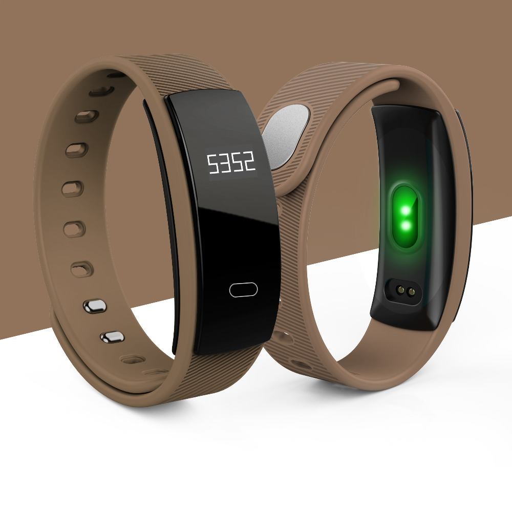 QS80 Smart band TFT high-definition OLED Call Message reminder Bracelet IP67 Waterproof Heart Rate Band for android ios