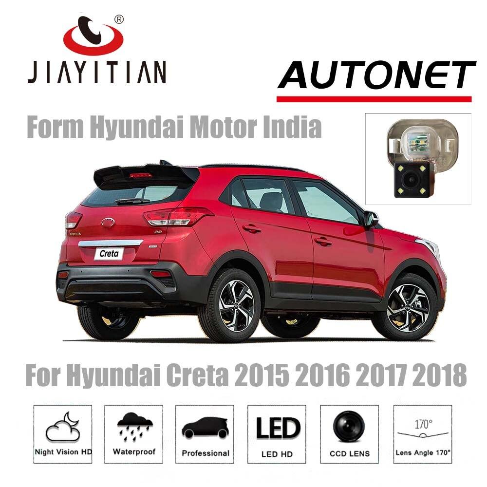 JIAYITIAN Camera For Hyundai Creta 2014 2015 2016 2017 2018 CCD Night Vision Reverse camera Backup camera license plate camera цена