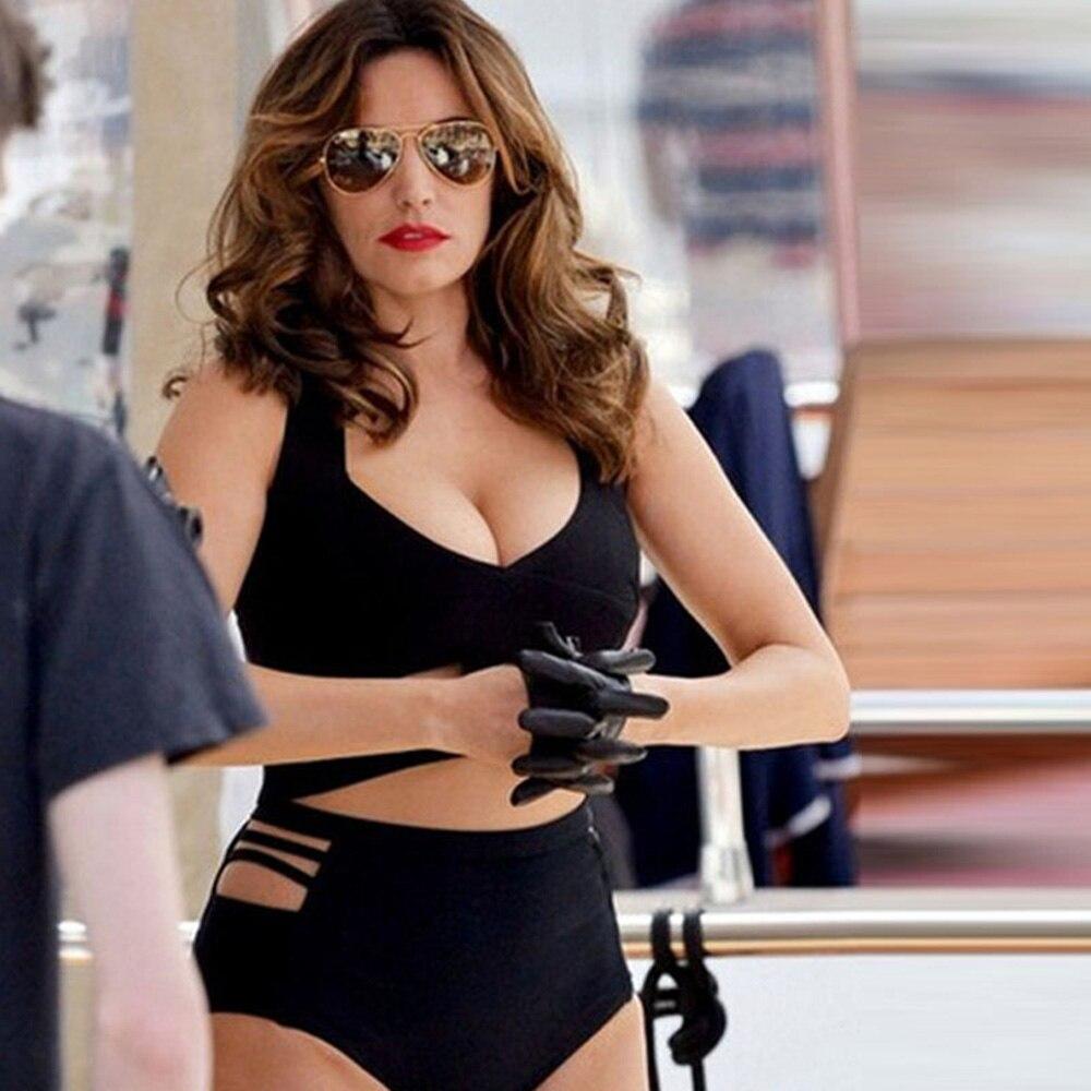 HTB1KO9xSFXXXXa9aXXXq6xXFXXXx - FREE SHIPPING Women Black Bikini Set Removable Padded Bra Swimwear Swimsuit Plus Size XL-3XL Size JKP366