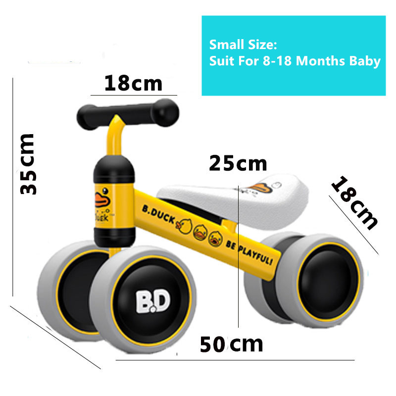 New brand children's bicycle balance scooter walker infant 1-3years Tricycle for driving bike gift for newborn Baby buggy