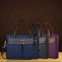 For Macbook Por 13 Big Size Nylon Computer Laptop Solid Notebook Tablet Bag Bags Case Messenger