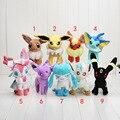 16-23cm Pikachu Eevee Sylveon Espeon Flareon Umbreon Glaceon Jolteon Vaporeon Leafeon Stuffed Doll Soft Plush Toys