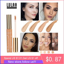 LULAA Face Concealer Professional Liquid Concealer Makeup Full Coverage Dark Circles Acne Marks Base Primer Cream Cosmetic