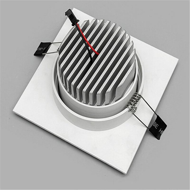AC85-265v Meydanı 10w / 15w ölçülü cob led tavan lampası reched - Daxili işıqlandırma - Fotoqrafiya 6