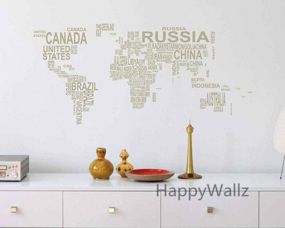 World Wall Decor Modern 4