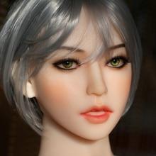 Newwmdoll #175 секс кукла голову для всего тела силикона куклы секса 140-175 см секс куклы