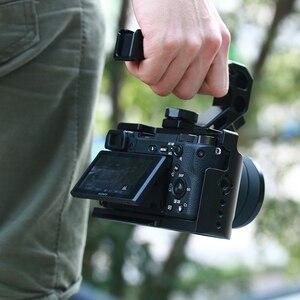 Image 4 - UURig R008 אוניברסלי Arri מיצוב ידית מצלמה למעלה ידית לחיצת יד עבור צגים מיקרופונים כדי Sony ניקון Canon מצלמות