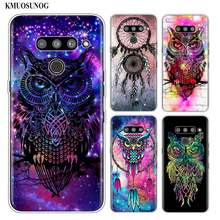 Siliconen Soft Phone Case Uil catcher voor LG K50 K40 Q8 Q7 Q6 V50 V40 V30 V20 G8 G7 G6 g5 ThinQ Mini Cover(China)