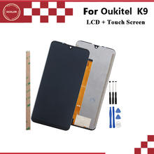 """ocolor For Oukitel K9 LCD Display and Touch Screen Digitizer Assembly 7.12"""" For Oukitel K9 Screen Replacement+Tools And Adhesive"""