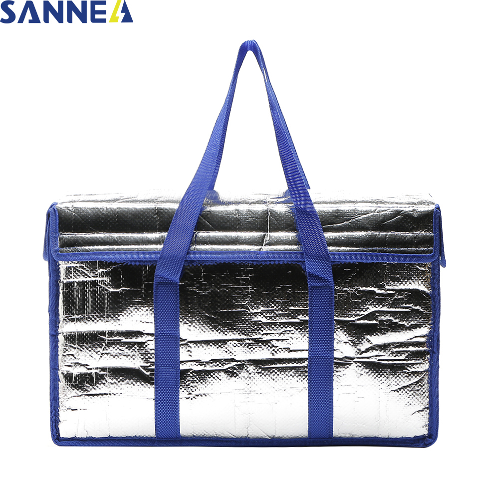 SANNE 26L Classical Simple Big Capacity Insulated lunch bag thermal Women Cooler Lunch Bags Family Food picnic lunch bag G7060-2 цена