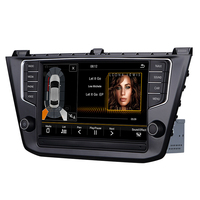 Android 8.1 2G/32 car stereo multimedia player for VW Tiguan L 2016 built in Canbus,support original TPMS,radar , USB, camera