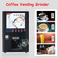 商業コーヒー自動販売機セルフサービスコールド/ホット飲料装置全自動インスタントコーヒーマシン MM801