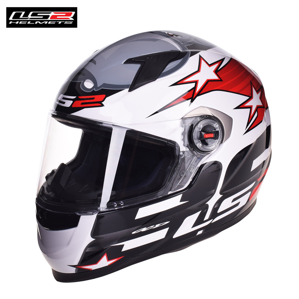 LS2 Full Face Racing Motorcycle Helmet Capacete Casque Casco Moto Kask Helmets Helm Caschi Crash For Honda Motocyklowy Motor original ls2 ff353 full face motorcycle helmet high quality abs moto casque ls2 rapid street racing helmets ece approved