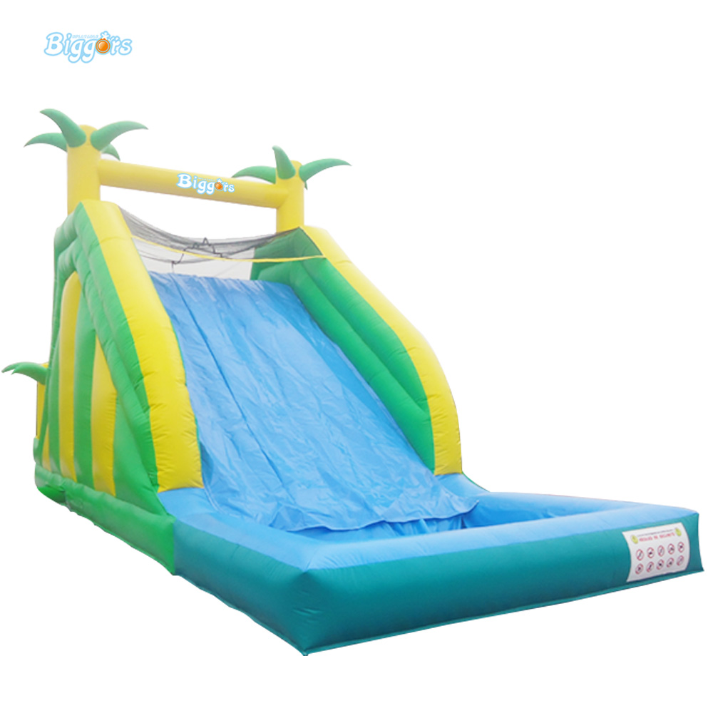 Inflatable Biggors Hot Sale Inflatable Water Pool Slide Sale Saudi Arabia commercial inflatable water slide with pool made of pvc tarpaulin from guangzhou inflatable manufacturer