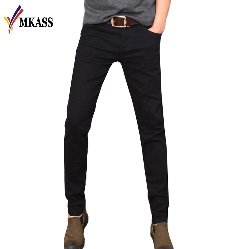100% Cotton Spring Autumn Brand Men Jeans Fashion Style Slim Fit Little Feet Black Jeans Skinny Jeans Men Size 28-36 cn 0ygd9h ygd9h 0ygd9h davm9mmb6g0 for dell vostro 1015 laptop motherboard gm45 ddrii gma x4500