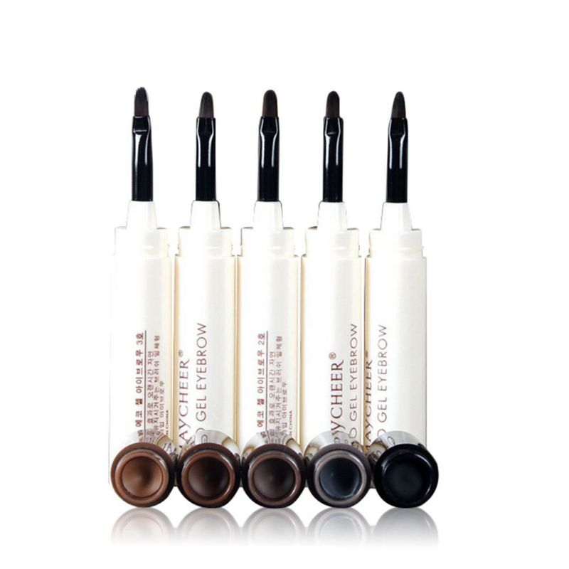 1pcs Natural Long Lasting Eyebrow Gel Waterproof Make Up Cosmetics Eye Brow Threading Cream