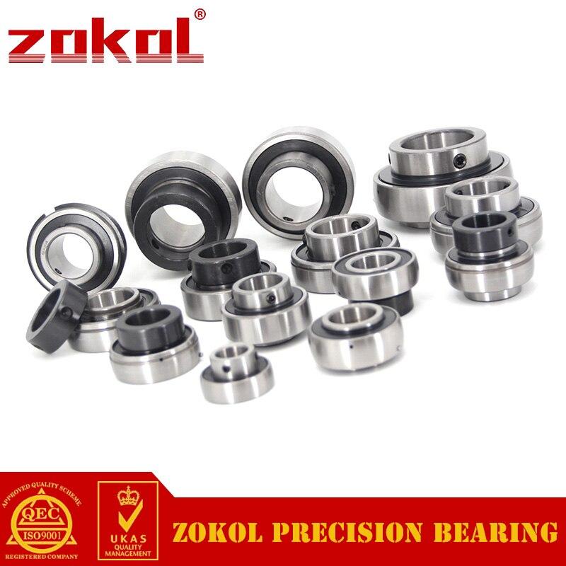 ZOKOL bearing UC319 90619 Pillow Block Ball Bearing 95*200*103mm zokol bearing flange cartridge bearing units ucfc212 ty90512y pillow block ball bearing diameter 60mm