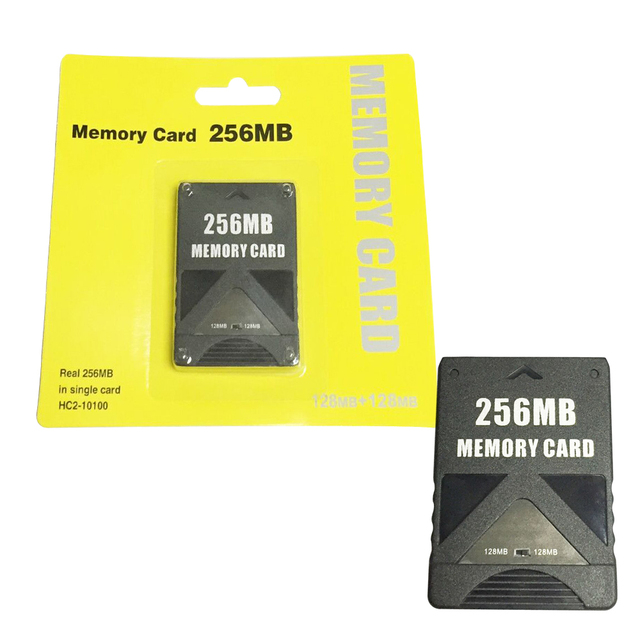 256MB Memory Card for PS2 for Playstation 2 128MB+128MB