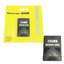 Tarjeta de memoria de 256MB para PS2, Playstation 2, 128MB + 128MB