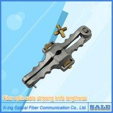 送料無料縦開口ナイフ縦シースケーブルスリッター繊維光学ケーブルストリッパーSI 01ケーブルカッター