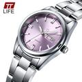 TTLIFE Brand Luxury Luminous Watches Women's Full Steel Business Casual Wrist Watches Women Date Week Analog Quartz Watch Female
