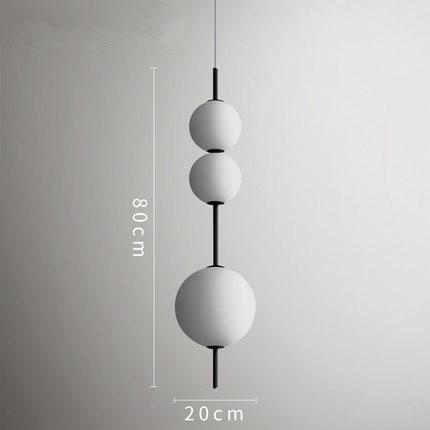 Image 4 - Modern LED Pendant Lamps Hanging Lamps Restaurant Gourd Pendant Lights Cafe Bar Bedroom Kitchen Dining Room Glass Deco Fixtures-in Pendant Lights from Lights & Lighting