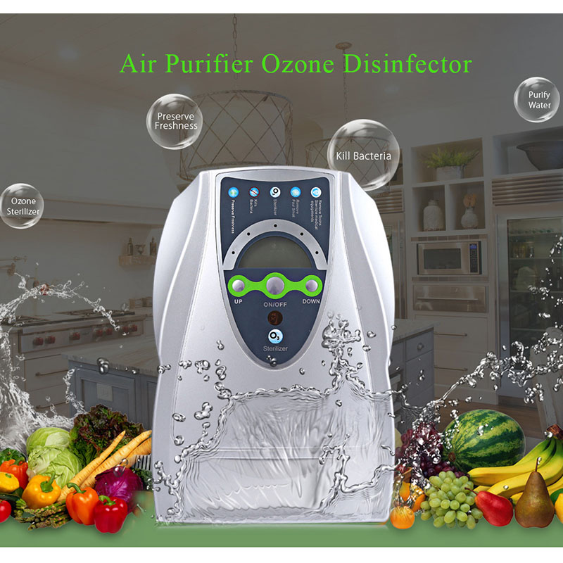 Household Air Purifier Ozone Generator 220V Ozone Generator Air Purifier Disinfector Fruits Vegetables Sterilization household