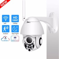 TOMLOV Wireless WIFI ip Camera Outdoor HD 1080P 2MP Wi Fi ip Camara Cam CCTV PTZ Onvif Home Security Surveillance Camera ipCam