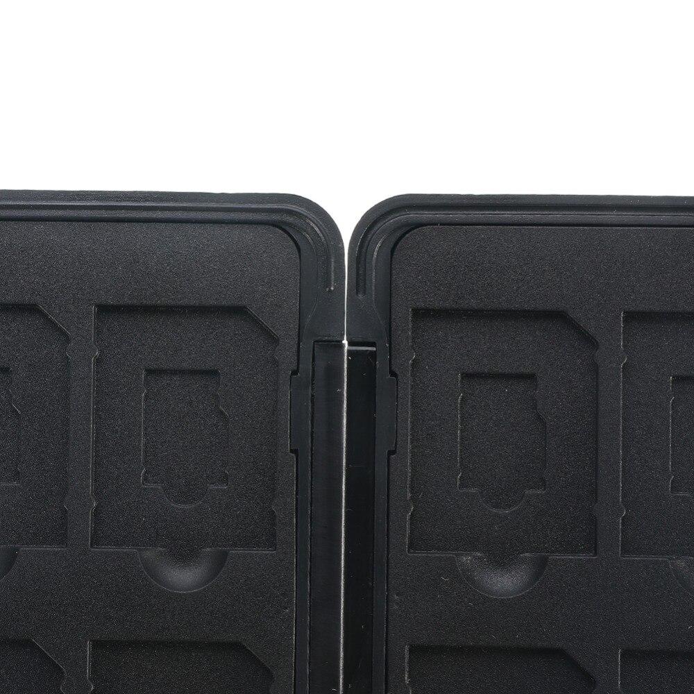 2 2TF schede Micro Scatola di immagazzinaggio pratico in Alluminio Lega Memoria Scheda Custodia