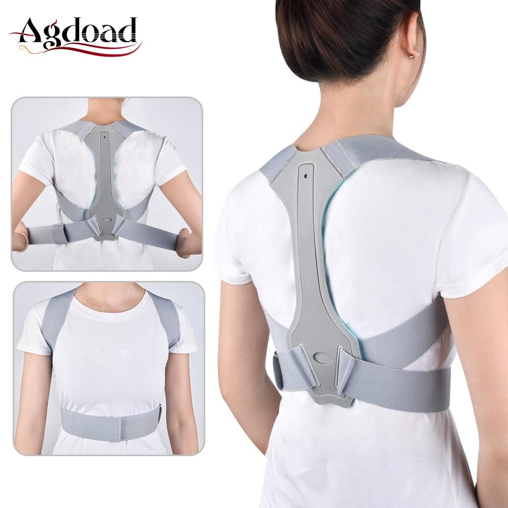 Adjustable Back Posture Corrector Belt Back Support Brace Back Pain Relief Spain Waist Straps For Men Women Posture Correction