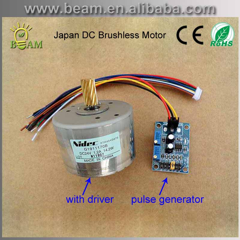 Free Shipping 24v Japan Brushless Dc Motor Impulse Control