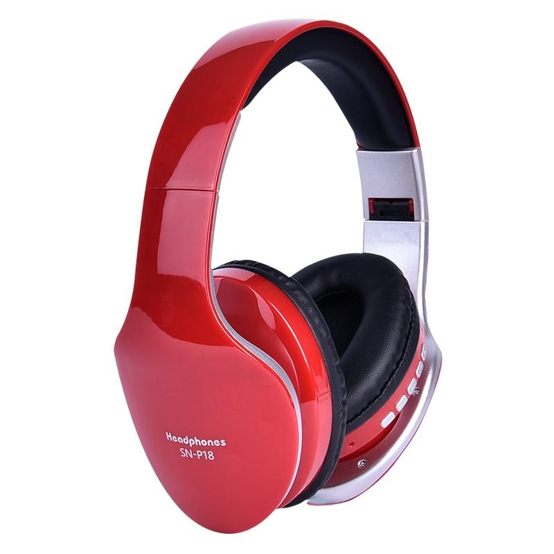 Headphone Sounds Wireless Red Deecomtech