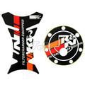 Ktm duke 125 KTM200 KTM390 fuel tank cover personality ktm logo personalized fishbone fuel tank cover