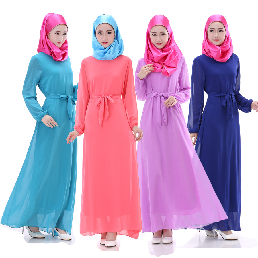 New Muslim Abaya Long Dress For Women Philippines Dresses Fashion Clothing South Asia Long
