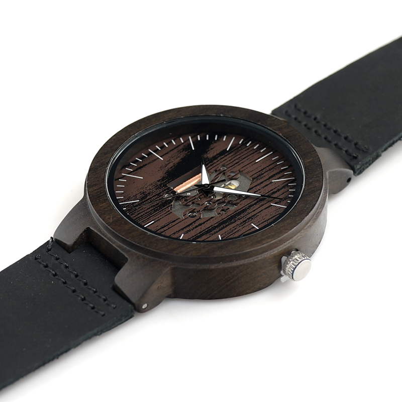 Wood Mens Watch Quartz Watches (11)