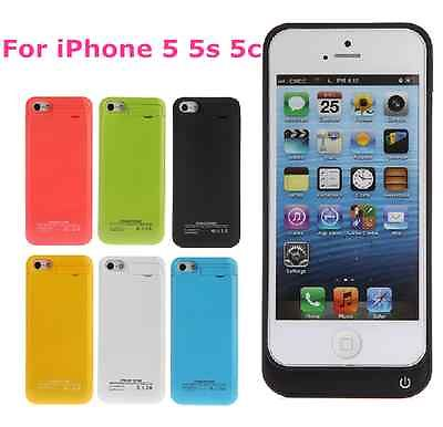 pretty nice bfba6 40c35 US $22.38  Brand New 4200 mAh External Battery Backup Charger Case Pack  Power Bank for iPhone 5 5S 5C iPhone5 iPhone5S-in Battery Charger Cases  from ...
