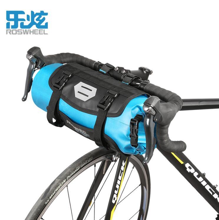 ФОТО ROSWHEEL bicycle bag front mtb bike handlebar bag pannier cycle bycicle cycling bag bags accessories 7L 100% waterproof 2017
