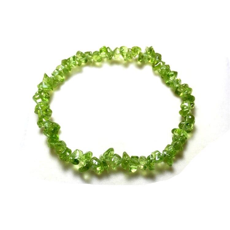 dc56a8e6d825 € 6.3 |Olivino cristal pulsera de piedra natural pulsera encanto pulsera  para mujer Accesorios en Pulseras de amuleto de Joyería y accesorios en ...
