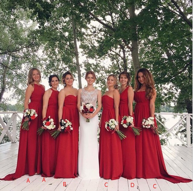 Compare Prices on Long Red Bridesmaid Dresses- Online Shopping/Buy ...