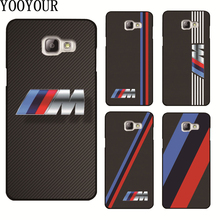 Yooyour Slim BMW hard plastic Cover Case For Samsung Galaxy A3 A5 A7 2015 2016 2017