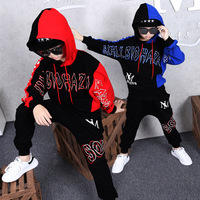 Children Tracksuit Boys Hoodies + Pants Casual Outfits Kids Spring Autumn Clothing Long Sleeve Sports Suits 8 10 12 13 Years