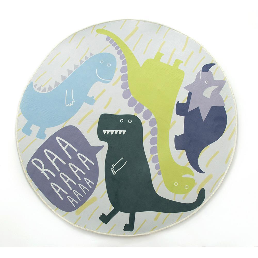 Nouveau bébé tapis tapis de jeu dessin animé dinosaure Infantil 1 cm épaisseur mousse Puzzle tapis enfant en bas âge ramper tapis de jeu couverture pour bébé - 5