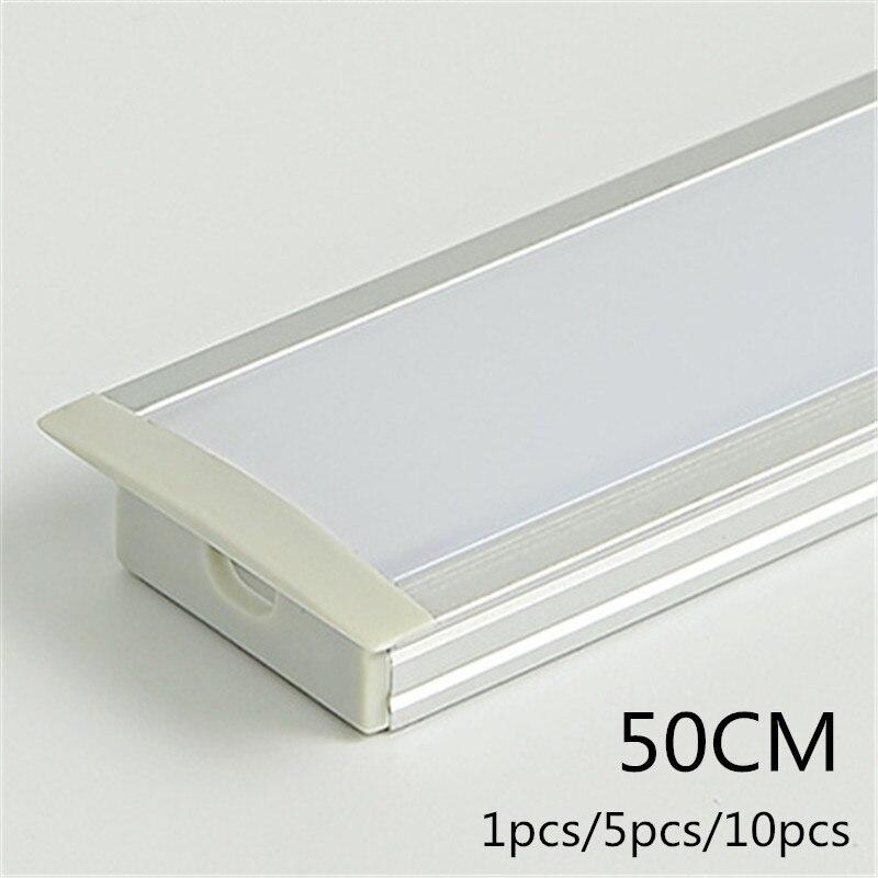 Betere CLAITE 50cm New U Aluminium Channel Holder for LED Strip Light Bar LP-62
