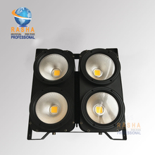 Rasha Spark Top Sale 4*100W 2in1 WW/CW COB LED Blinder Light Audience Light Stage Studio Light Church Light Warmwhite Blinder